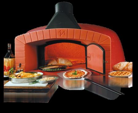 La pizza come in pizzeria con i forni a legna per famiglia valoriani - Forni per pizza a legna per casa ...